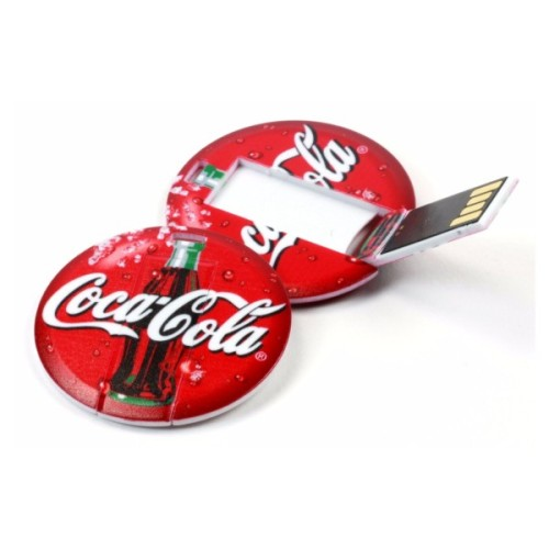 Round Card Pen Drive